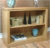 Solid Oak Low Bookcase