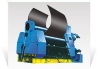 Hydraulic rolling machine with four rollers