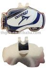 Golf bag shaped metal cap clip w/ Zinc alloy
