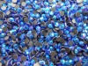 hot fix DMC MC crystal rhinestone blue AB sapphire AB