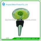 2012 hot sale metal bottle stopper