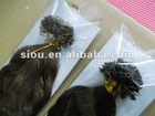 Keratin hair extension, selected best quality hair material, tangle free, no matts, soft hair.
