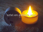 LED candle light/LED Amber flickering tealight candle
