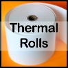 Smooth surface thermal bond paper
