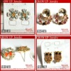2012 latest cute girls earrings for sale