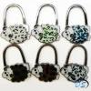 The Varied Lovely Sheeps Folding Handbag Purse Holder Hook Hanger