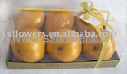 "Christmas Decoration 10"" * 6"" * 3"" Artificial Fruits Pear Giftbox"