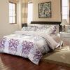 100% cotton high density printed bedding set