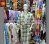 100% polyester polar fleece robe / bathrobe