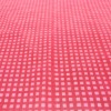 Grid Check Pattern Flocking on polyester fabric for sofa