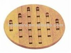 Hot selling Bamboo Round Trivets