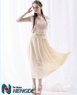 latest skirt design pictures long skirt lace maxi skirt fashion lace prom dress T201343