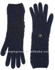 New hot sale knitted long gloves