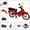 Italika AT110 cub-type motorcycle parts