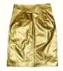 Ladies' printed golden skin skirt