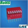 dp dip switch 7 position piano type dip switch