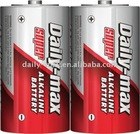 LR20 D Size alkaline Battery