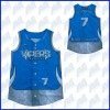 100% polyester adult sublimated softball uniform