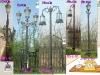 cast iron/aluminum classical European lamps