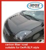 auto carbon fiber engine hood for Suzuki Swift-SLR style