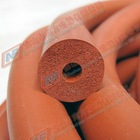 Red Silicone Foam Tubes 002