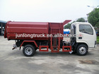 side loading garbage truck