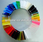 Colorful cast acrylic sheet