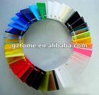 Colorful cast acrylic sheet