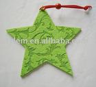 Felt stars for Christmas