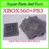 20pcs Heat Direct BGA Stencils+BGA Reballing Jig For XBOX360 and PS3 Reballing Kit
