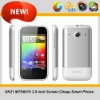 MTK6515 3.5inch capacitive android 2.3 unlocked smartphones cheap