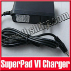 "Charger for Android 10"" Superpad 6/VI Tablet PC/MID/UMPC"