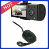 HD.264 Dual Lens Vehicle Car DVR Recorder with 5M 2 million CMOS wafer