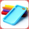 New Arrival Various Colors Silicone Back Case Cover for iPhone 5