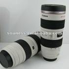 Camera Lens Cup Stainless Travel Mug