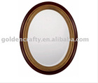 oval wall decor mirror