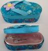 slipper-shape trinket box, perfume box, hair decorations box