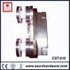 Stainless steel office sliding door clamp (Asia New Designs)