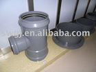 Upvc Flanged Tees-ISO4422