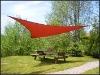 HDPE triangle sun sail shade