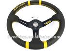Hot Sale 350mm MOMO Genuine Leather Racing Steering Wheel