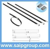 Easy operation Stainless steel cable tie