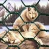 pvc animal enclosure hexagonal mesh fence