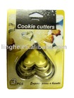 LH-ACC006(3PCS HEART COOKIE CUTTERS)