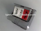 Brazil style multi floor socket box HDC01-ZBT119/G