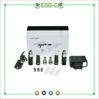 Apoloe Electronic Cigarette 2 Battery + 2 Adapter + 2 USB + 2 Base + 2 Cone + 5 Cartridge + 5 Atomizer EGO C