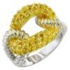 Fashion ring SIR0672T-V61