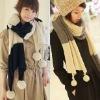 Scarf knitting machine fashion scarf
