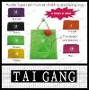 For shopping purse type non woven carrier bag