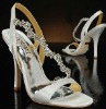 crystal wedding shoes WED321
